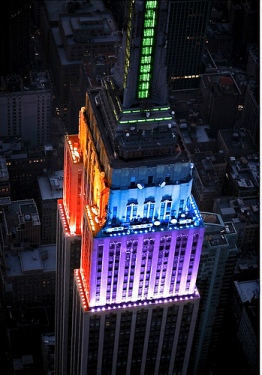 Empire State Bldg - Pride2011